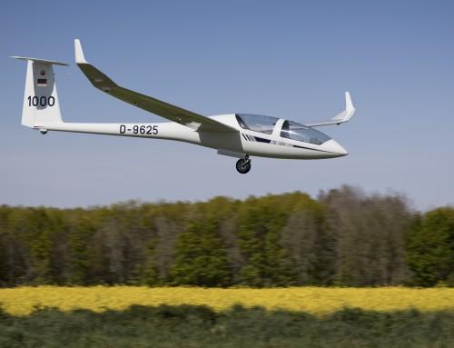 Premiers vols de la saison pour le DG1000